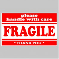 Fragile Please Handle with Care Labels