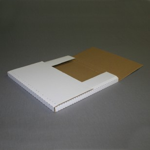 10101 Ident. 10 1/4 x 10 1/4 x 1 Bookfold Mailers