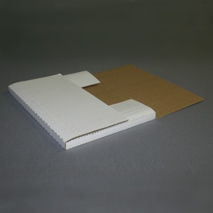 2BK Ident. 12 1/8 x 9 1/8 x 2 Bookfold Mailers