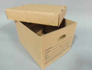 15 x 12 x 10 Storage File Boxes with Lids